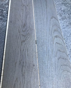 Parquet Rovere verniciato grigio